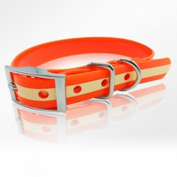 Collier Phosphorescent 45 cm Orange